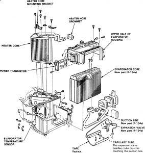 1997 acura cl 1997 acura cl heater core heater core broke and rh 2carpros com 1996 Acura CL 1997 Acura CL Interior
