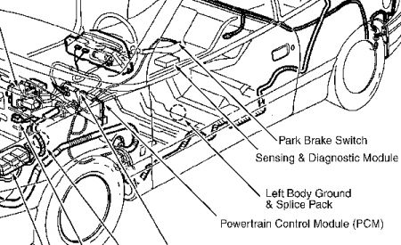 Saturn Sl1 Alternator Location on saturn sl2 coolant temperature sensor