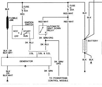 1992 dodge dakota voltage drain and drop: hi, i have two ... 1992 dodge dakota wiring 1992 dodge dakota blower motor wiring diagram