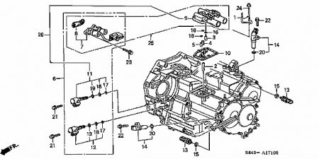 Honda Crv Transmission Filter Location