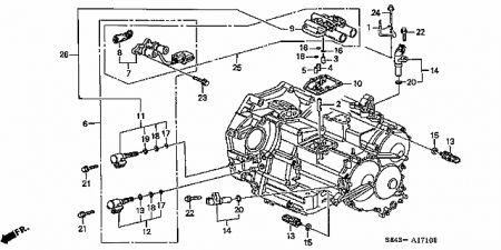03 Honda Accord Transmission Solenoid Location