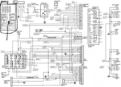 1994 cadillac concours crank but wont start: i have a 1994 ... basic ignition wiring diagram 300 internation #9