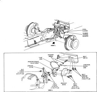 Ford Expedition 1999 Ford Expedition Brake Fluid Flow To Front Brakes on 2003 f150 front axle diagram