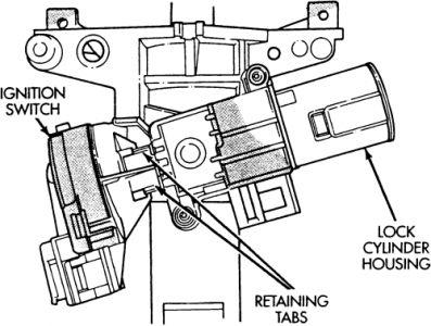 1997 Dodge Caravan The Key Will Start The Engine But It