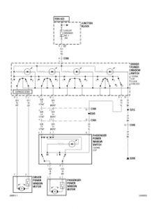1999 chrysler concorde wiring diagram 1999 chrysler 300 electric window: the front passenger ... 1999 chrysler 300m wiring diagram