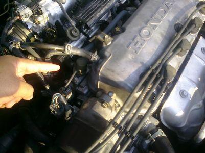 honda civic oil leak engine performance problem  honda