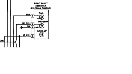 88 chevy truck tail light wiring basic guide wiring diagram \u2022 2009 g6 headlight wiring harness 1988 chevy silverado rear brake lights and blinkers rh 2carpros com gmc tail light wiring chevrolet