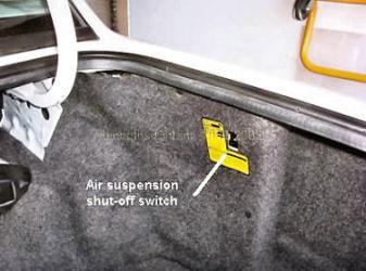 1990 Lincoln Town Car Rear Air Suspension Suspension Problem 1990
