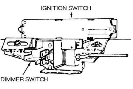 1995 Jeep Cherokee 1995 Jeep Cherokee Ignition Switch Replacement
