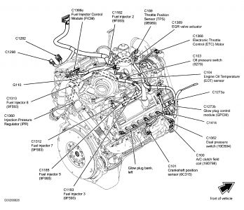 Car Engine Diagram on 2007 ford focus interior fuse box