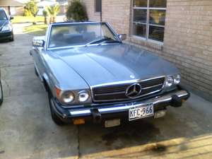 1976 Mercedes Benz 450sl Car Is Mixing Gas with Oil