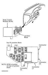 2000 chrysler cirrus fuse box diagram  | 542 x 597