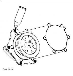 Saturn Sl2 2000 Saturn Sl2 Water Pump
