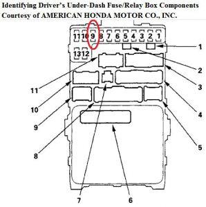 2001 Honda Accord: Electrical Problem 2001 Honda Accord 6 ...