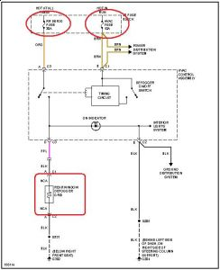 2002 Chevy Cavalier Rear Window Defogger: Electrical Problem ... on