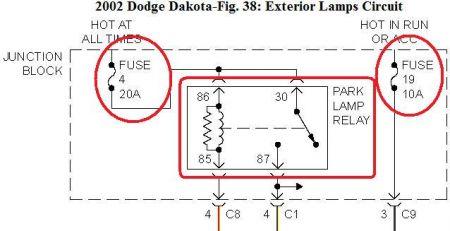 2002 dodge dakota electrical problem 2002 dodge dakota
