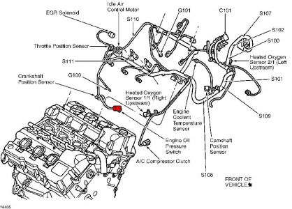 Chrysler 3 8 V6 Engine Diagram together with Ford 4 6 Oil Filter Housing Diagram moreover 03 Hemi Engine Diagram furthermore Chrysler 300m 3 5 Engine Diagram besides Wiper Motor Wiring Diagram 2004 Pacifica. on 2005 chrysler town and country crankshaft sensor location besides 2000