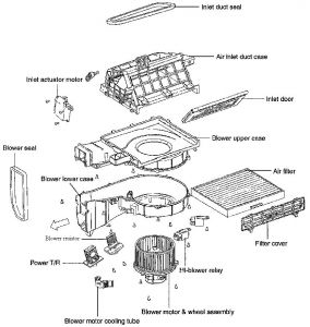 Wiring Diagram Further Blower Motor Resistor Location On ... on
