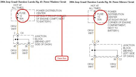 2004 jeep cherokee power windows engine cooling problem 2002 grand cherokee wiring diagram