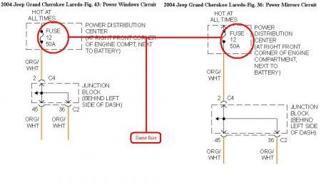 2004 jeep cherokee power windows engine cooling problem. Black Bedroom Furniture Sets. Home Design Ideas