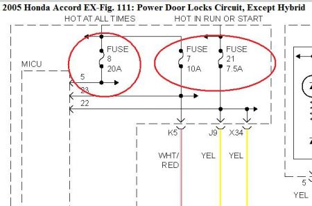 2005 Honda Accord Power Door Locks My Power Door Locks Do