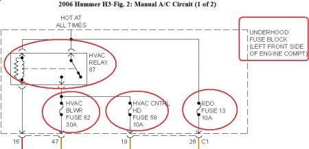 2006 hummer h3 heater no longer turns on no noise at all. Black Bedroom Furniture Sets. Home Design Ideas