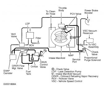 Dodge Caravan Purge Valve Location