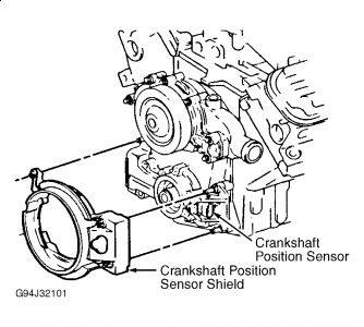 Pontiac Grand Prix 2000 Pontiac Grand Prix Cam Shaft Position Sensor