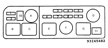 1991 Toyota Camry Fuse Box | Wiring Diagram on