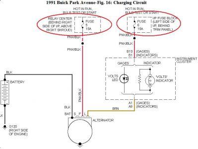 1991 Buick Park Avenue Battery Gauge/transmission: I Have a 91 ...2CarPros