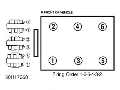 Firing Order Please Six Cylinder 3 1l Engine Two Wheel Drive