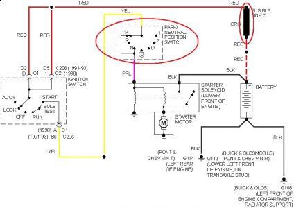 2002 buick lesabre wiring diagram buick lesabre starter diagram