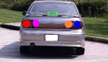 1999 oldsmobile cutlass my driver side brake light doesnt w 1999 oldsmobile cutlass my driver side
