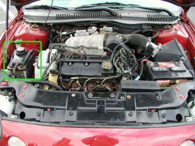 Tauruscoolant on 2003 Ford Taurus Ses