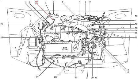 T22861439 Cam position sensor 1002 chrysler moreover Oil Pan Reseal Cost additionally 1997 Lexus Ls400 Wiring Diagram together with Ford Flex Fuel Pump Location likewise Pontiac G6 O2 Sensor Location. on taurus crankshaft position sensor location