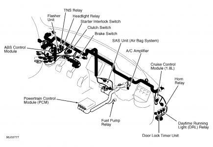 Wire Diagram Lift Gate Pumps