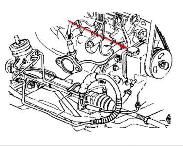 3800 Series 1 Engine Diagram additionally T12841799 Location 2004 kia optima coolant likewise Chevy Silverado Using Coolant furthermore 2007 Equinox Egr Valve Location likewise Suzuki Grand Vitara Fuel Pump Relay Location. on 2004 pontiac grand prix throttle position sensor