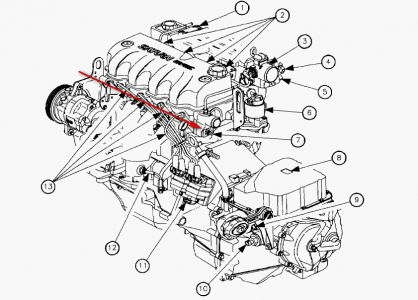 2003 Saturn Sl2 Engine Diagram
