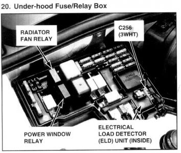 1995 honda accord window relay electrical problem 1995
