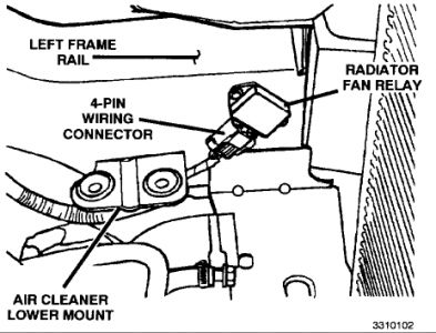 2002 Dodge Caravan Cooling Fan Relay Wiring | Wiring Diagram on