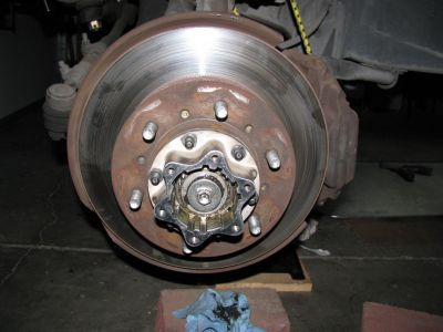 1990 Toyota Pickup Front Rotor Disk Brakes Problem 1990