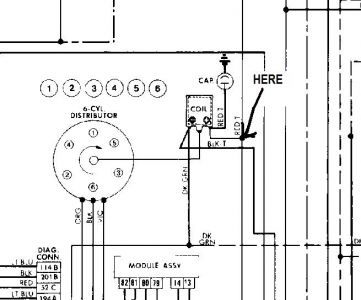 electrical jeep cj mi engine i have no spark i ve following your question here its the schematic of your jeep