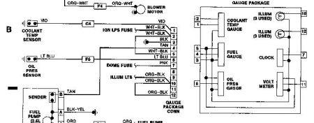 water temp gauge i have a 1989 jeep wrangler sahara 6. Black Bedroom Furniture Sets. Home Design Ideas