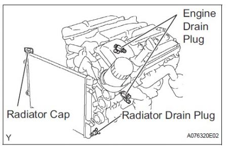 Radiator Drain Plug Location
