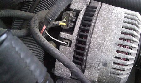 Alternator Not Charging Electrical Problem 6 Cyl Four