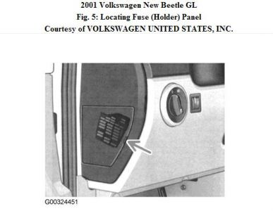 2001 volkswagen beetle fuze box air conditioning problem for 2001 vw beetle window problems