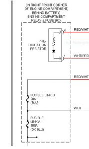 2000 hyundai elantra charging electrical problem 2000. Black Bedroom Furniture Sets. Home Design Ideas