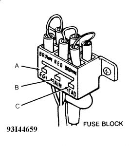 61395_Graphic_115 1991 ford festiva fusible links electrical problem 1991 ford ford festiva fuse box at bayanpartner.co