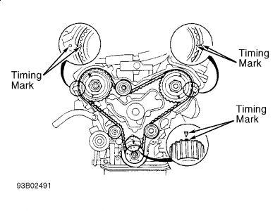 Mazda Mpv 1992 Mazda Mpv Lining Up 1 Cylender Top Dead Center