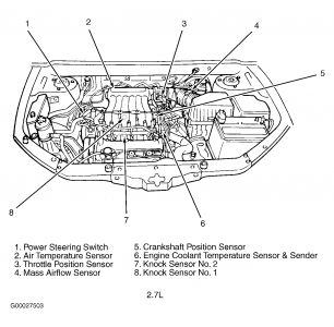 Engine Diagram 2010 Hyundai Accent